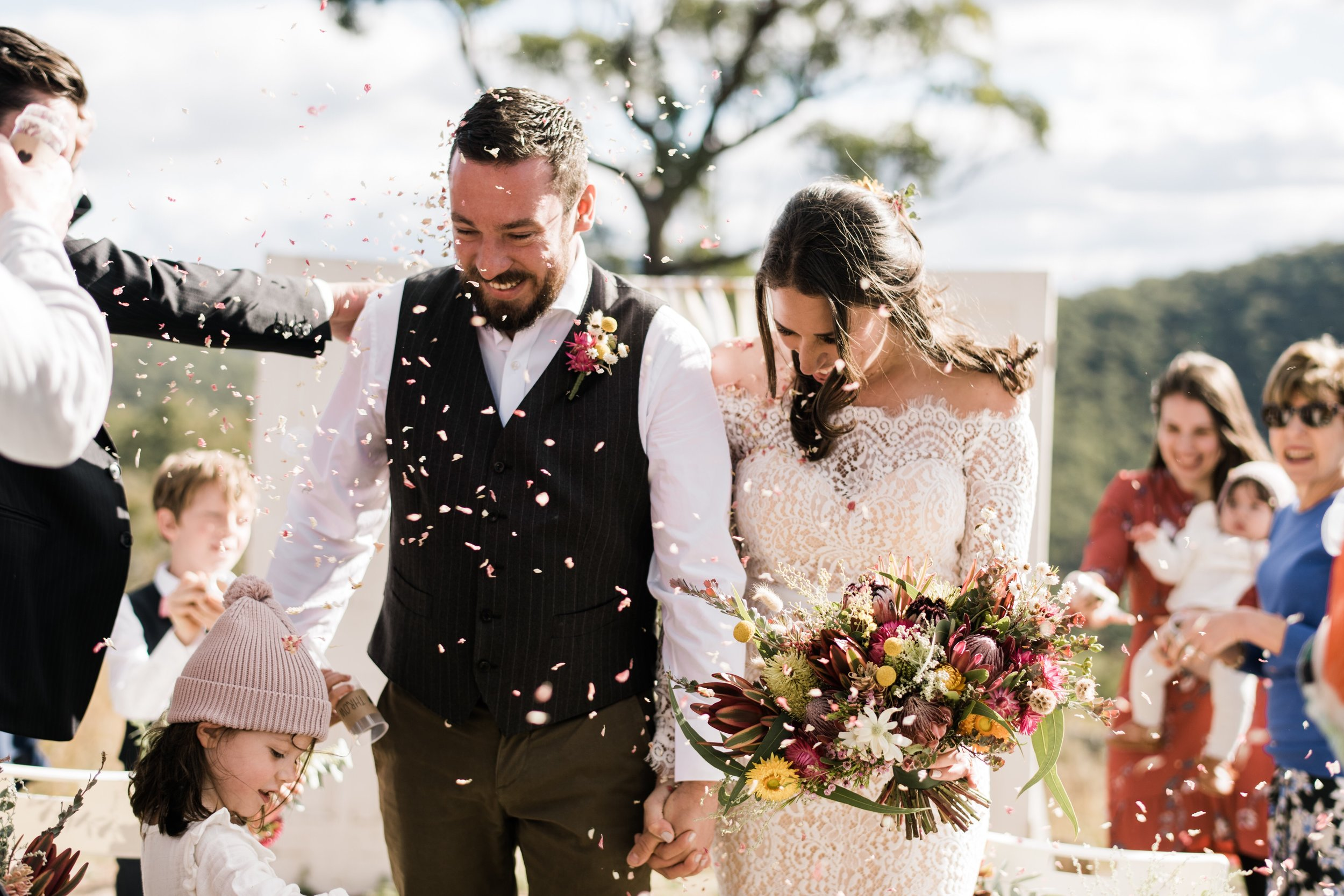 I just wanted to thank you… - …so much for the beautiful flowers last weekend. They were absolutely perfect and even more beautiful than I could have hoped for. Everyone was saying what an amazing job you did! - Gemma & Tom - May 19