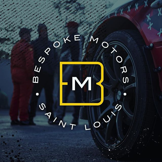 Happy logo launch day to Bespoke Motors! I loved designing this brand. It's giving me all the classic car vibes!  Special thanks to @chris_huddleston21 for the fun project!