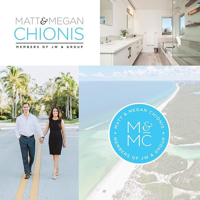 """Congratulations to Matt and Megan on their new branding! I've been working with these two over the past couple months and I'm super excited to finally share all our hard work. I love me some good icon design and when you can build a logo around an impactful, unique icon - in my opinion, you've struck gold! 😌👌🏻 Stay tuned for the launch of their new website!  Client feedback: """"Danielle is our go-to designer! Her work is fantastic and she has delivered great designs every time!"""""""