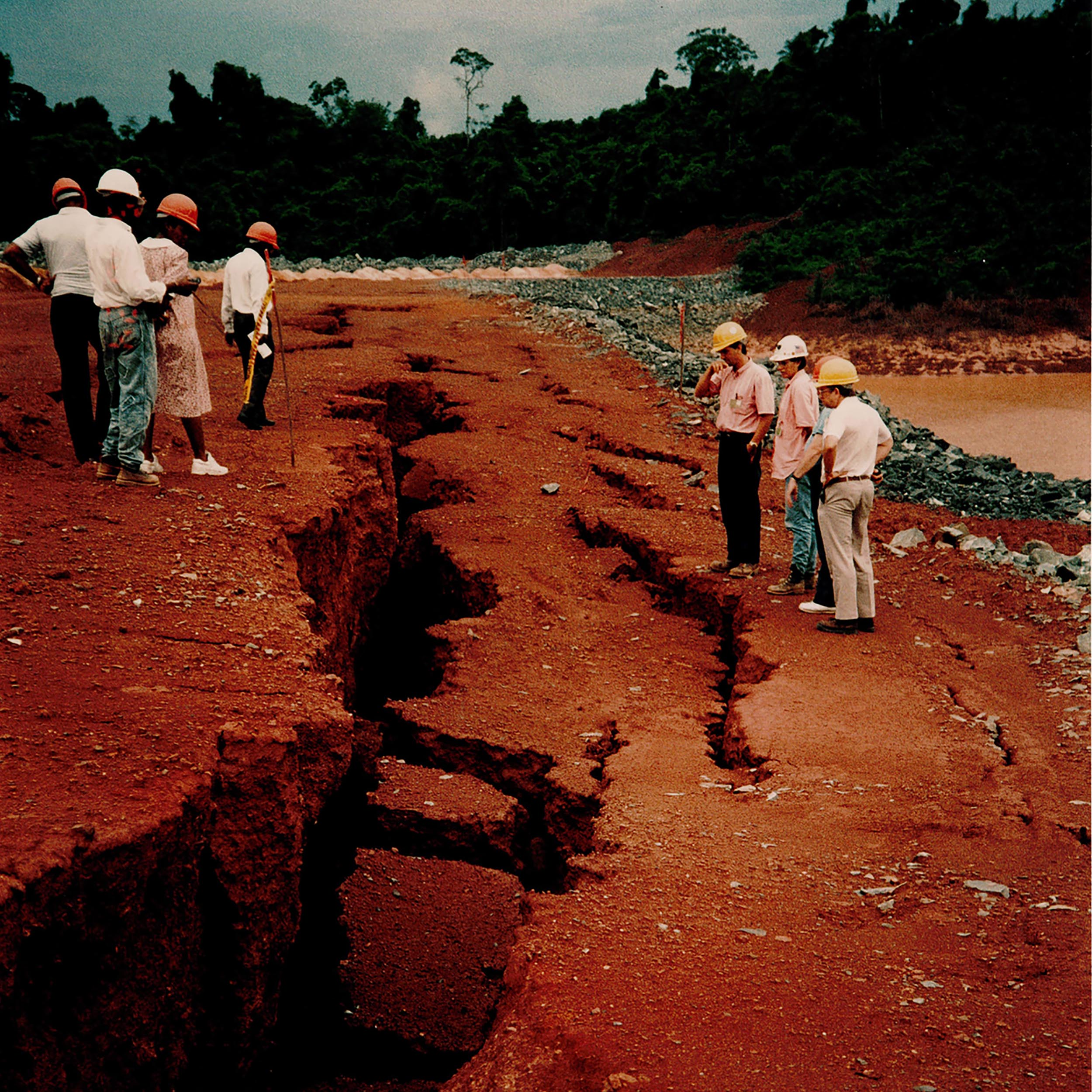 At the Omai Mine in Guyana, 3.4 million cubic meters of cyanide rich mine waste was released when a tailings dam failed.