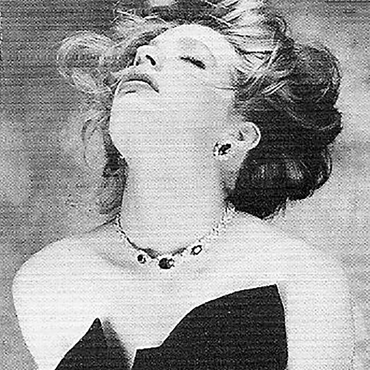 In western culture, jewels are traditionally the gift of a man to the woman, perhaps as a symbol of physical possession. Numerous jewelrey ads show women in a state of ecstasy, swooning or appearing disheveled.