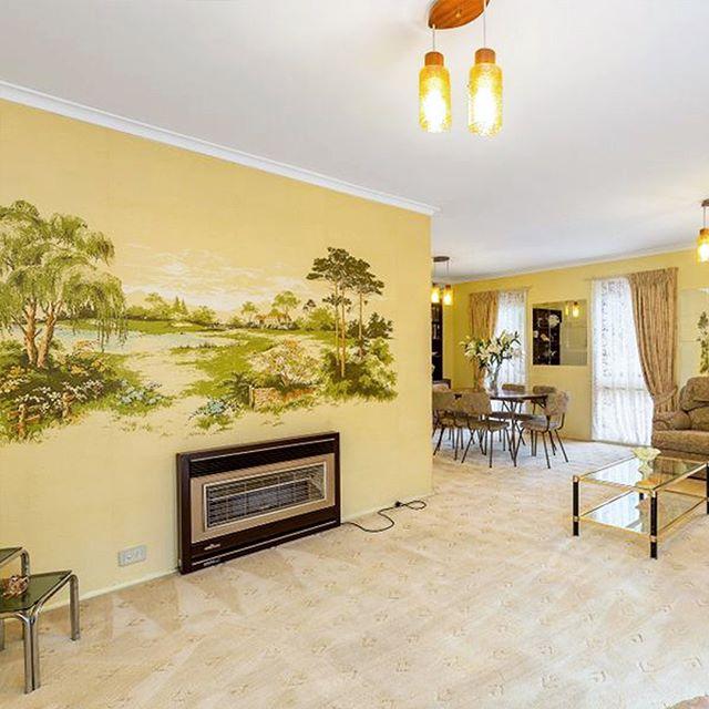 """Start your future here!"" #suburbia #retro #interior #design #Australia"