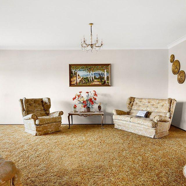 """""""A rare and ideally located Baulkham Hills gem."""" #suburbia #retro #interior #design #Australia"""