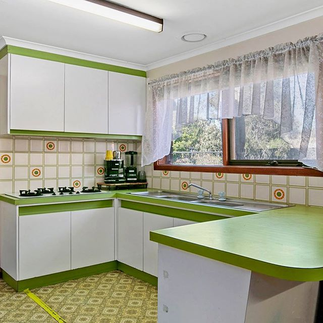"""Sale by sealed bid."" #suburbia #retro #interior #design #Australia"