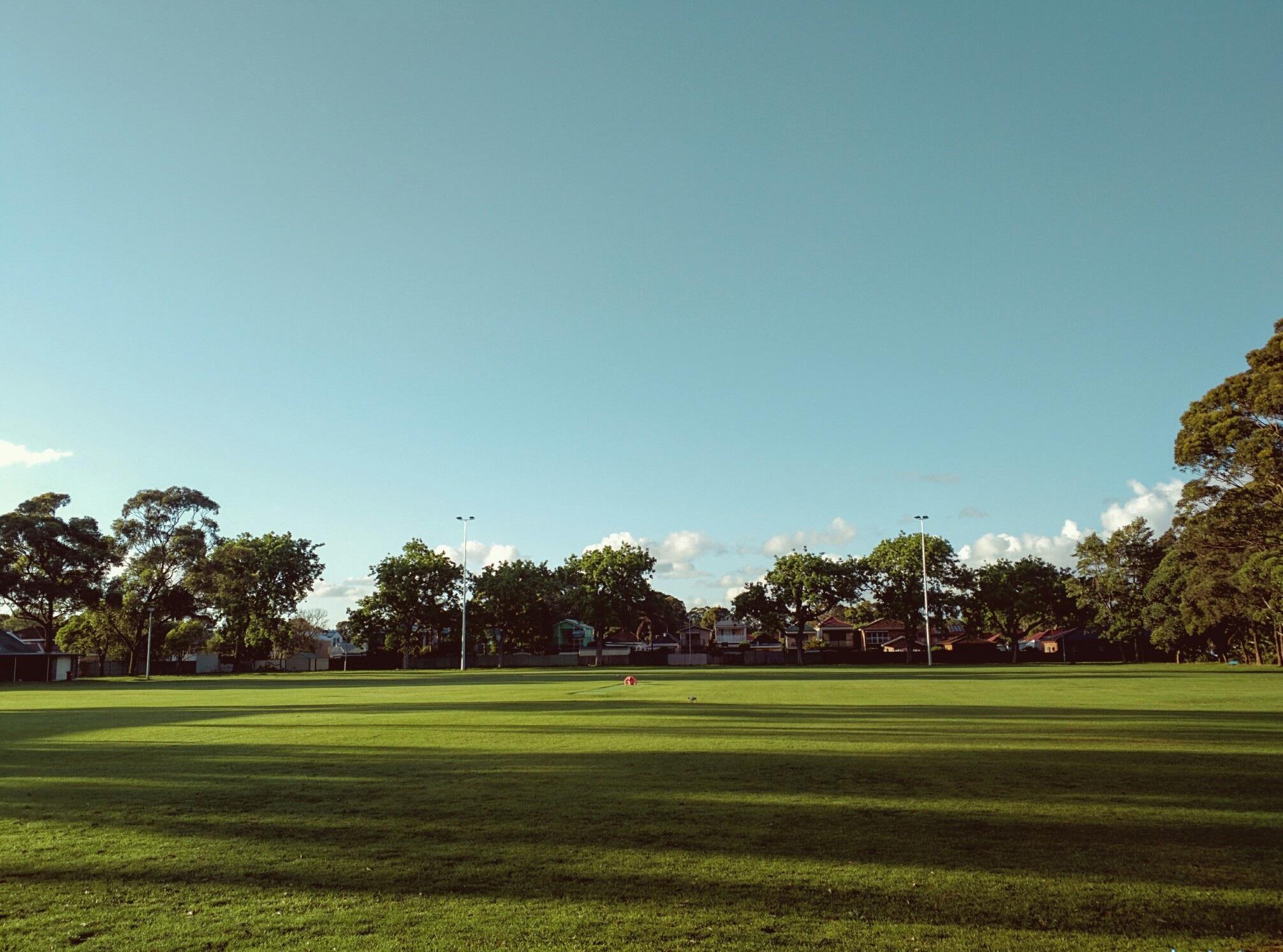 Our home ground at L'Estrange Park, Mascot