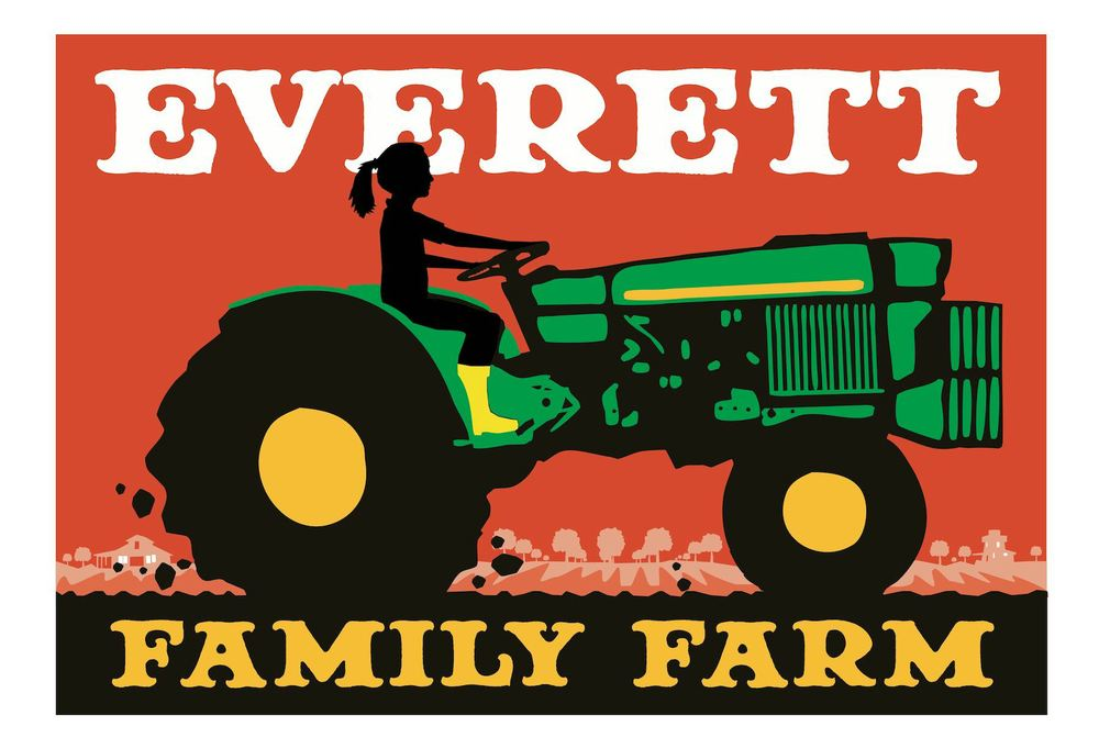 Everett Family Farm Logo