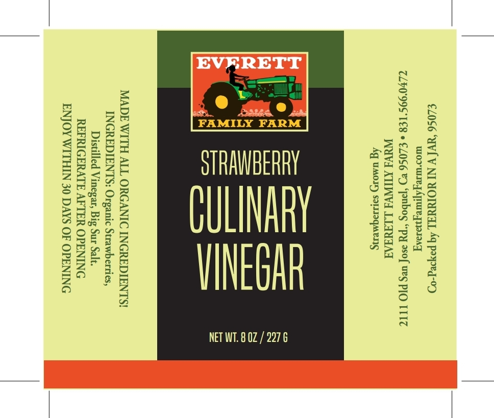 A label created for Everett Family Farms