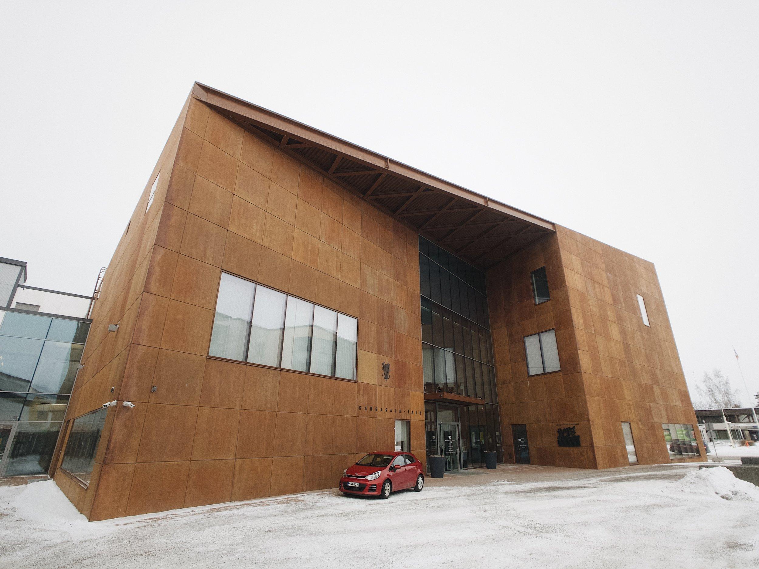 Kangasalan Kulttuuritalo, Kangasala