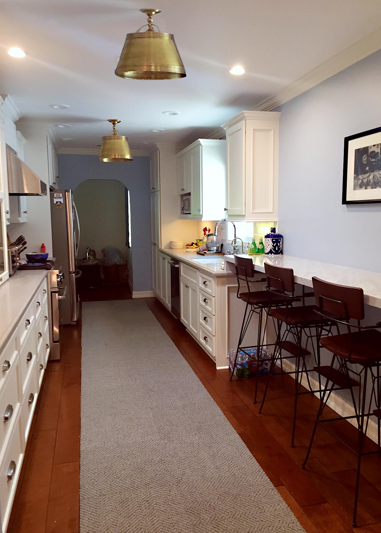 after - galley kitchen