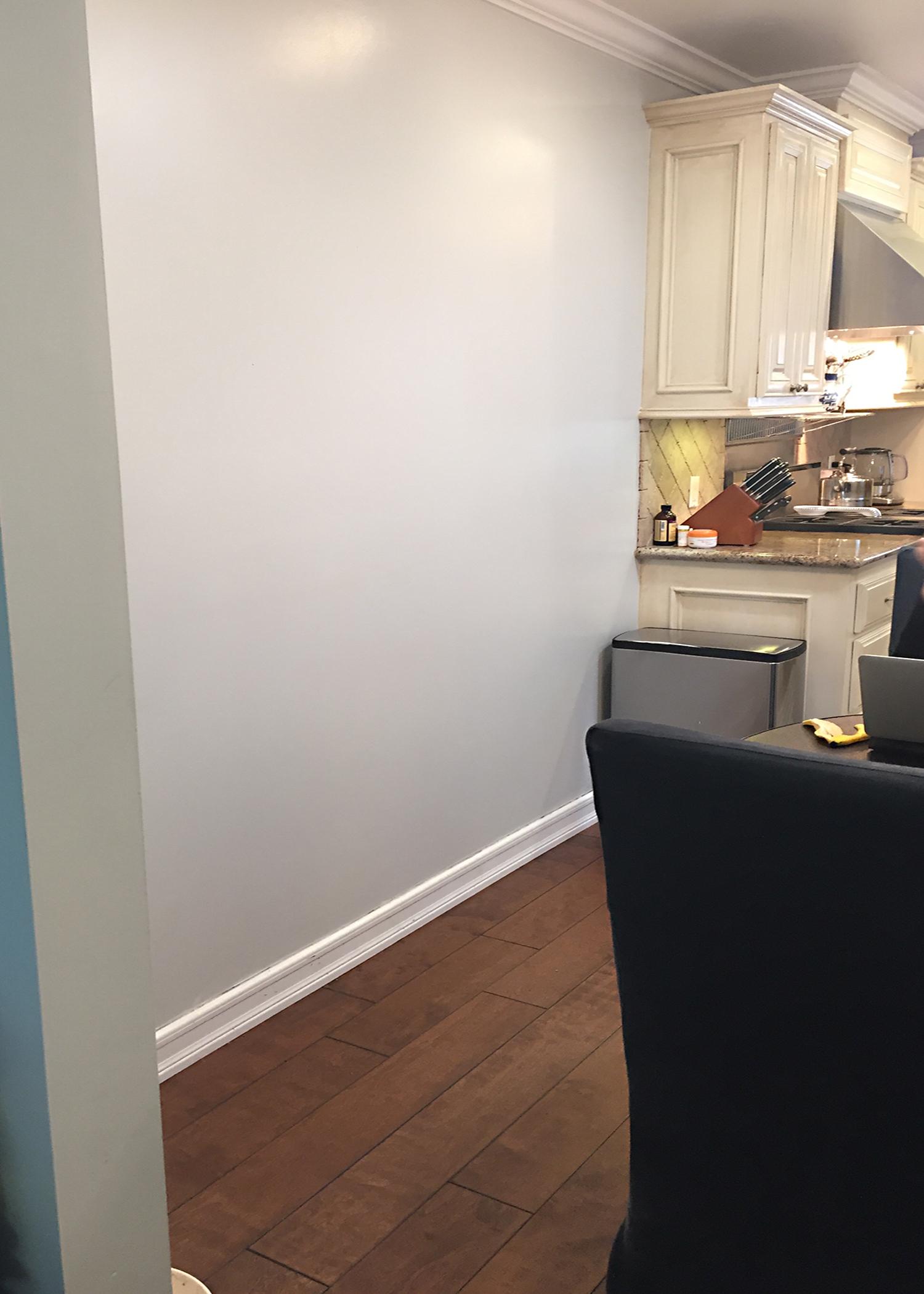 before - left side as enter kitchen