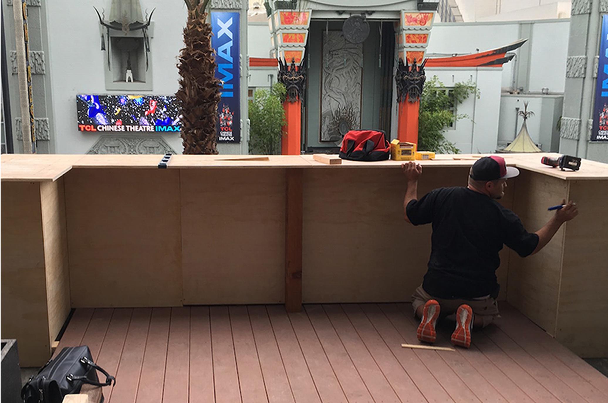 custom bar construction
