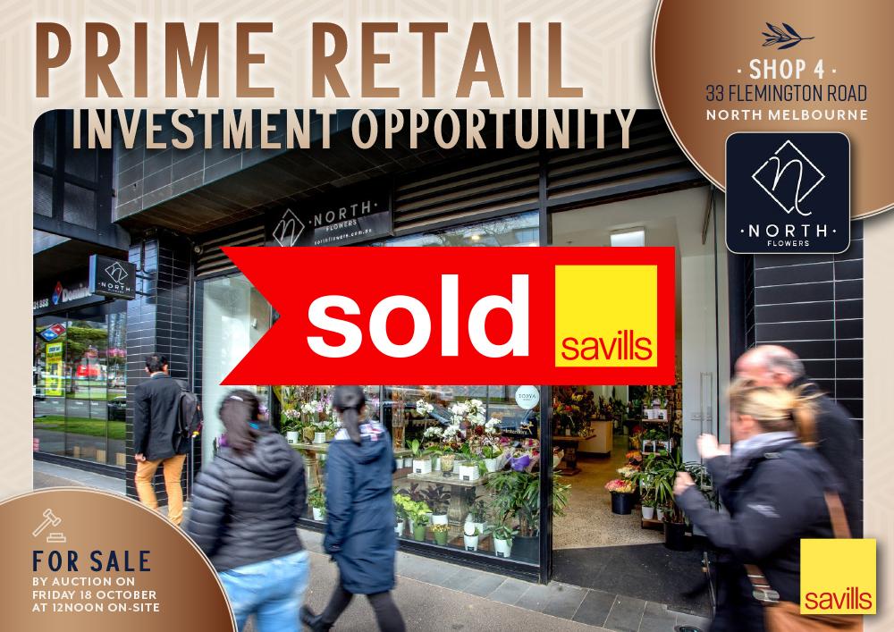 Shop 4, 33 Flemington Road, North Melbourne