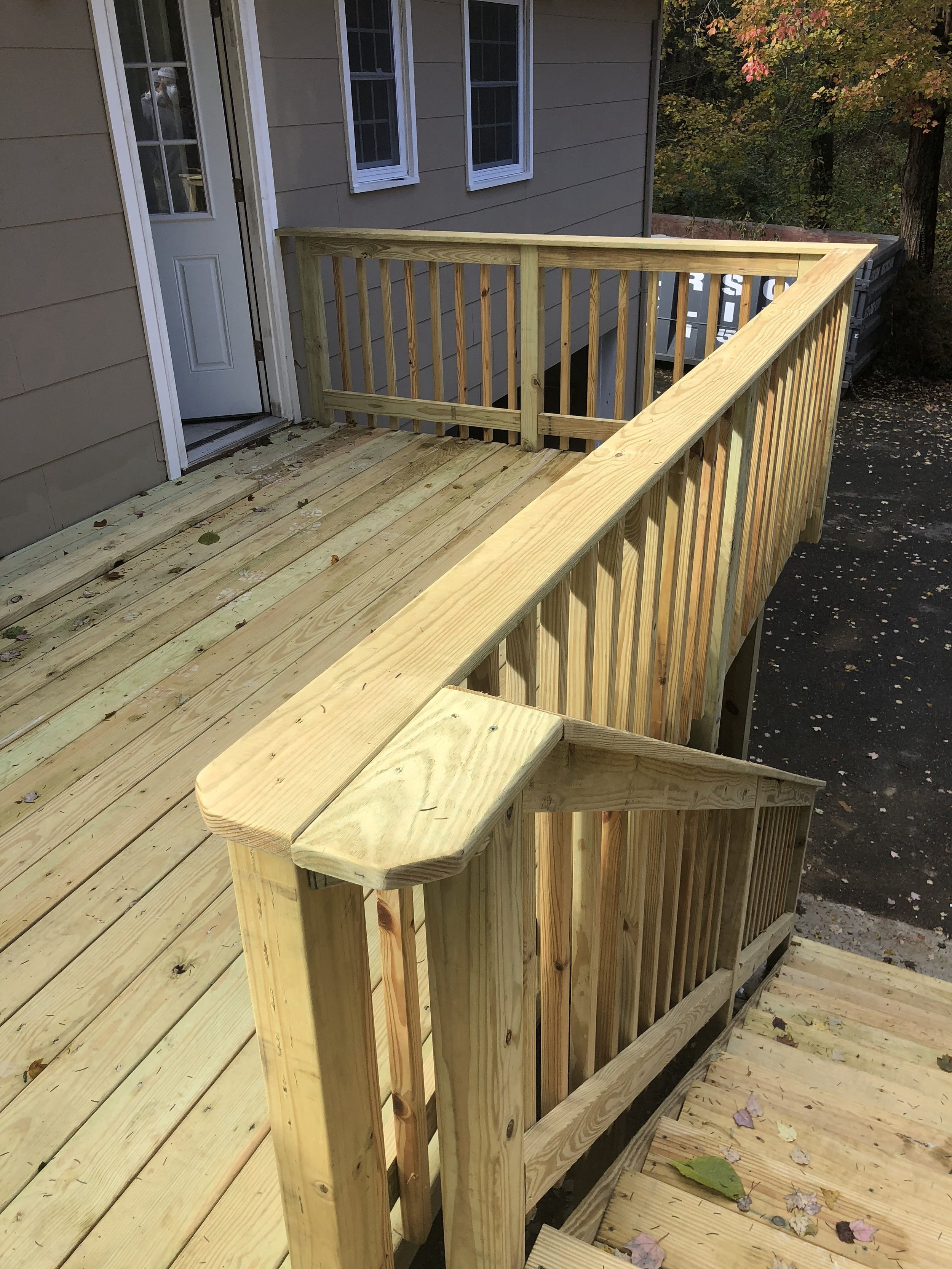 Deck Rails and Stairs
