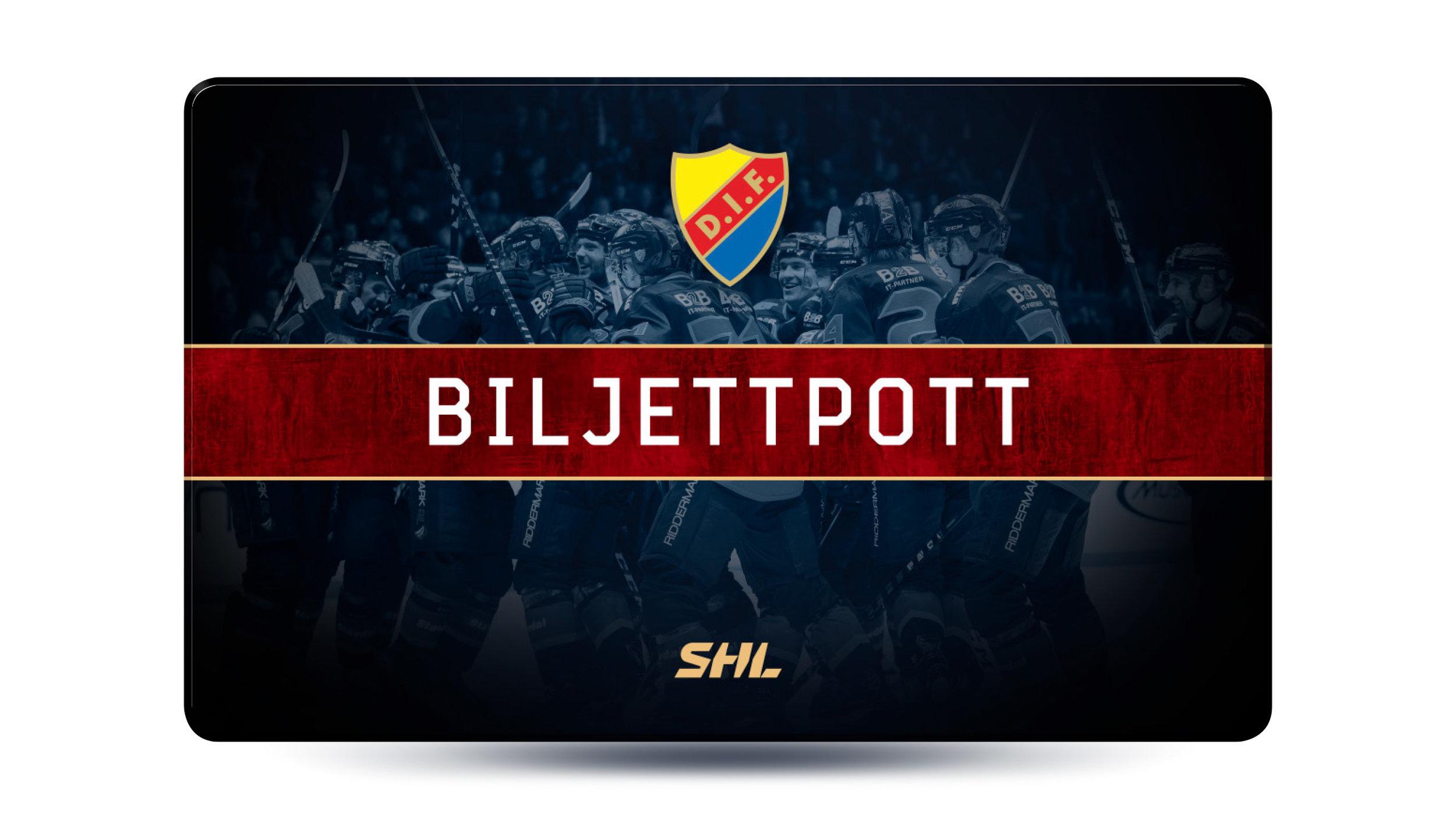 Biljettpott Djurgården Hockey