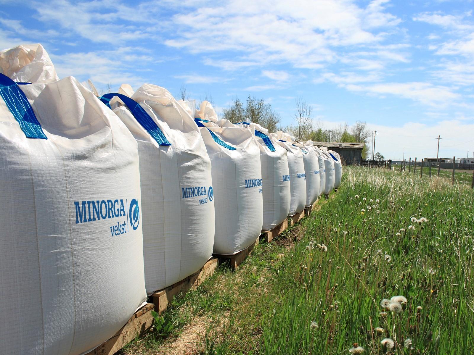 Minorga vekst - From biosolids to fertilizer