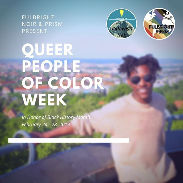 We are partnering with @fulbrightnoir this week to center the stories of Queer Black Fulbrighters in honor of #blackhistorymonth ⠀⠀⠀⠀⠀⠀⠀⠀⠀ To all the featured grantees and alumni, thank you for sharing your experiences with us. We are so grateful to be part of this exceptional community. ⠀⠀⠀⠀⠀⠀⠀⠀⠀ #fulbrightprism #outintheworld #fulbright #LGBTfulbright #lgbt #queer #queerfulbright #lgbt #outandabout