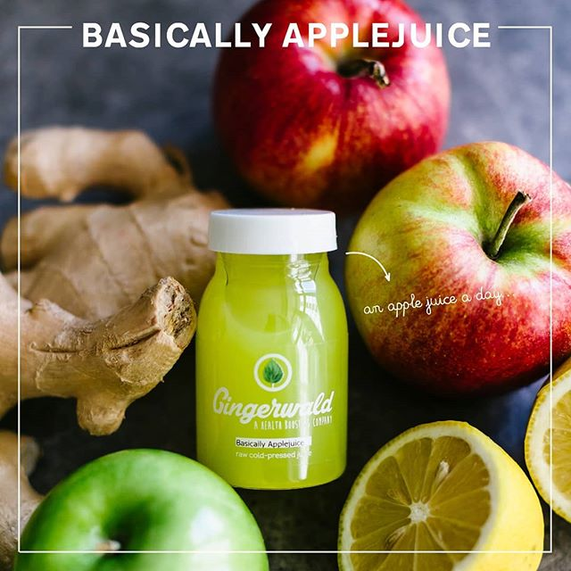 It's *basically* applejuice, with a touch of Gingerwald. 🍎🧚♀️