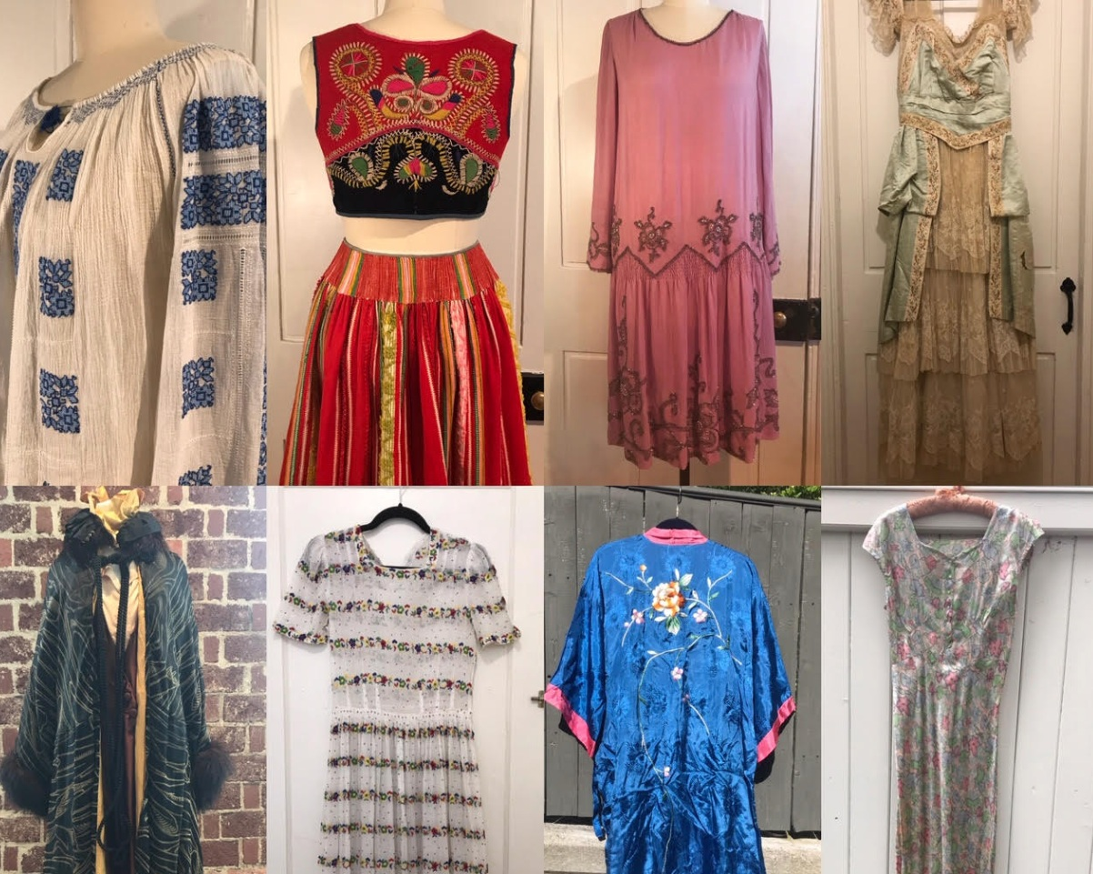 Demetra Vintage - Curated collection of antique & vintage apparel and accessories