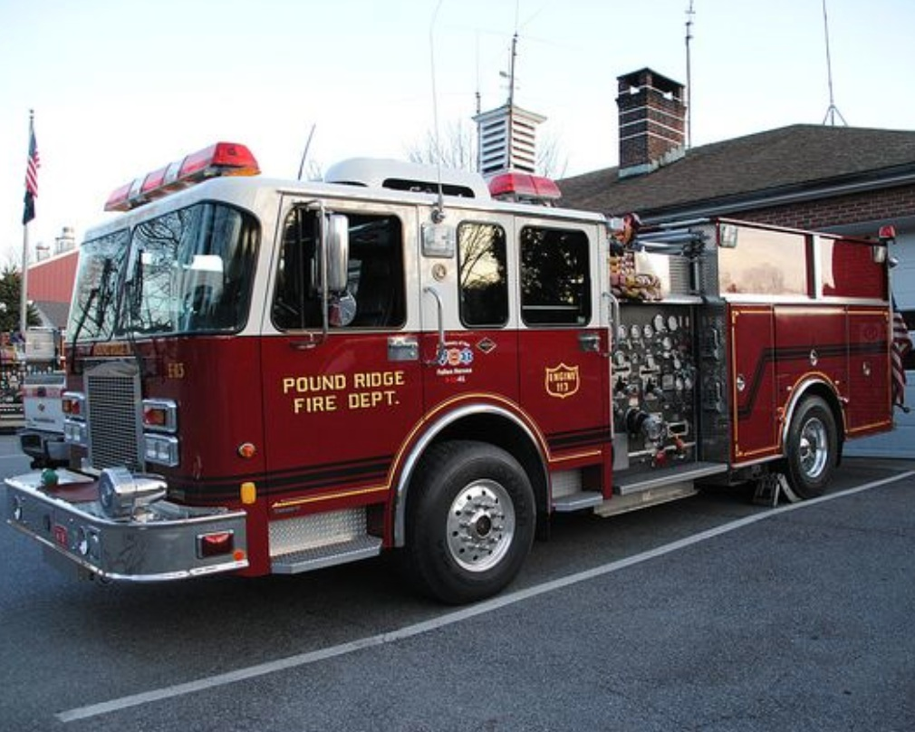 Pound Ridge Fire Department - Trucks will be on display!