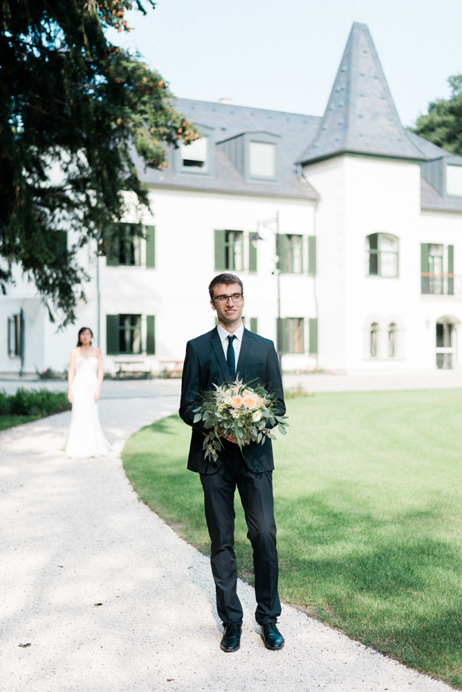 The first wedding in the castle - Thomas and Csilla's romantic day