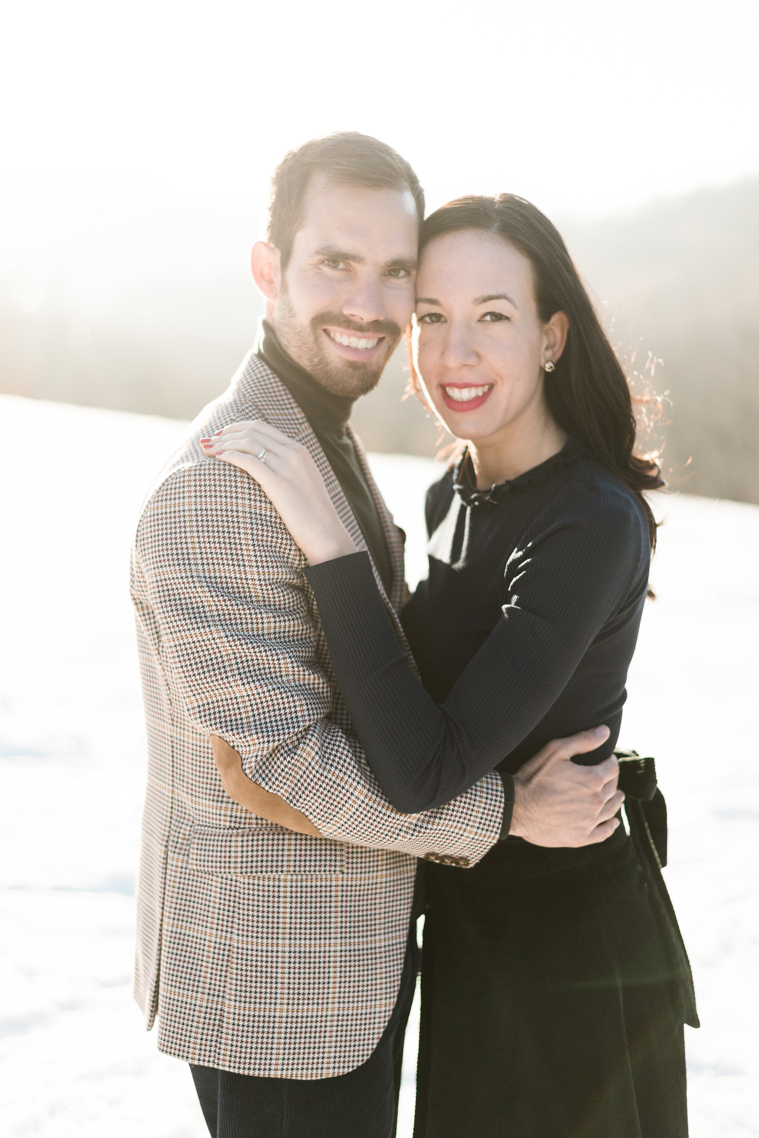 The Last breath of winter - An engagement session