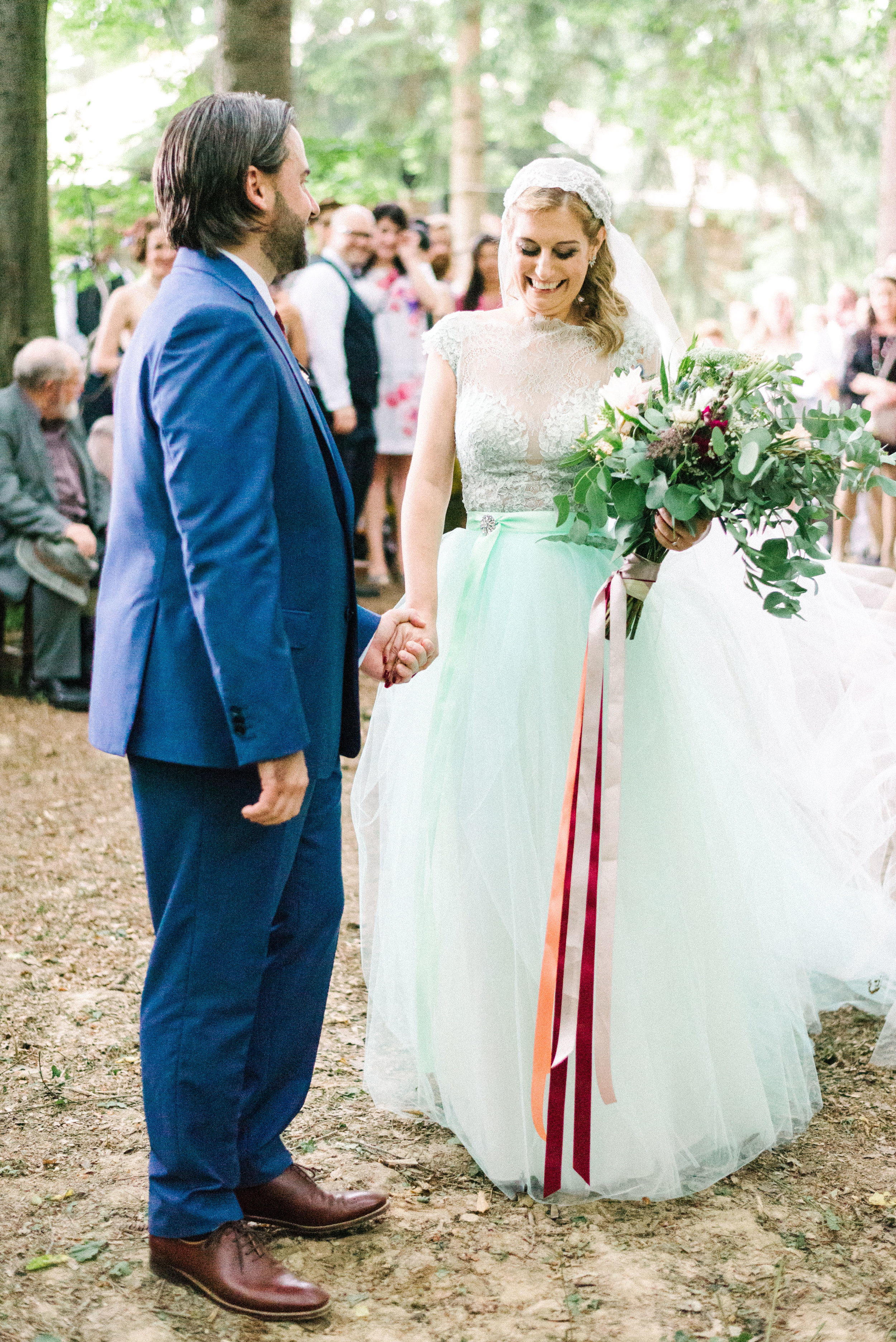 Folk festival wedding - In the middle of the forest
