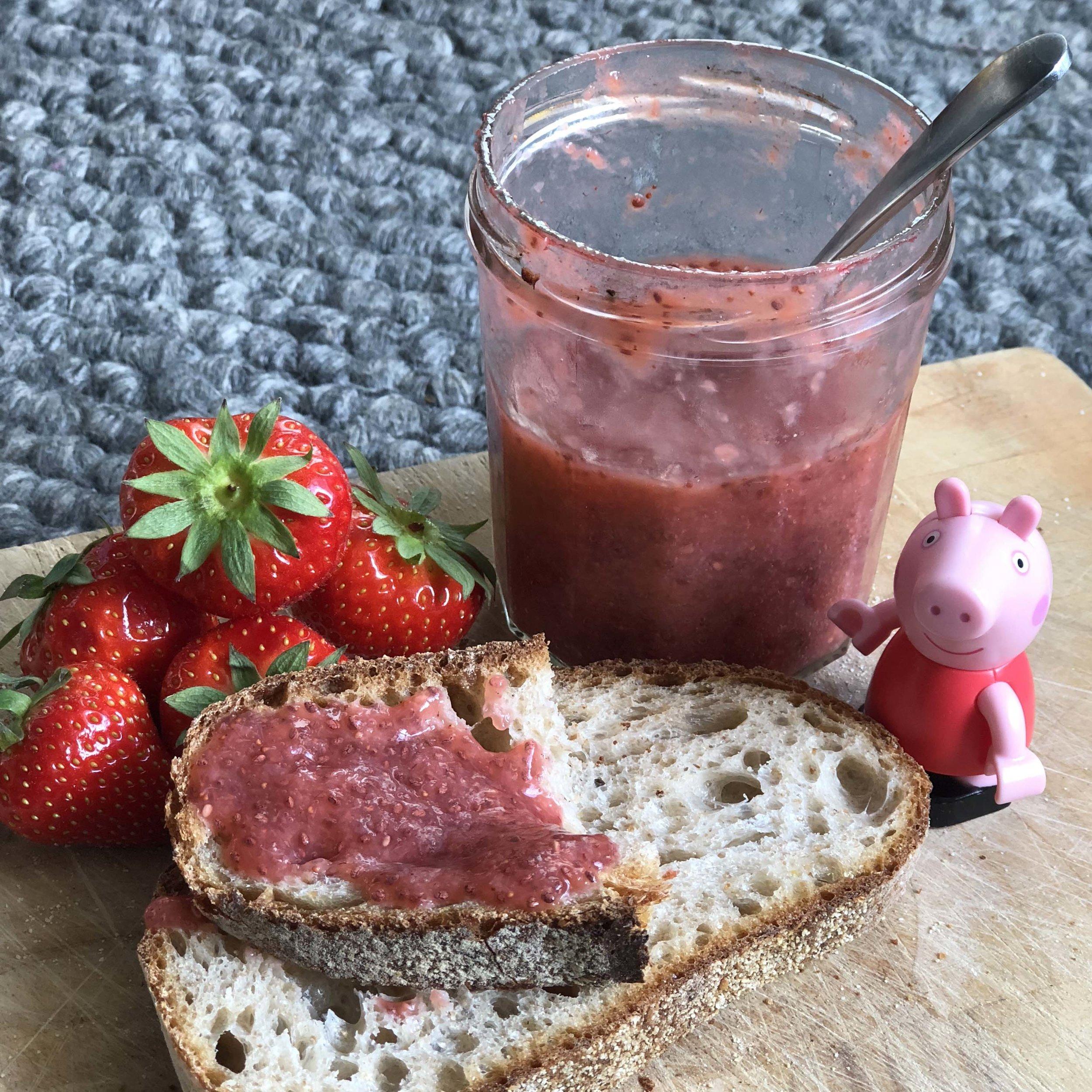 Chia Strawberry Jam -