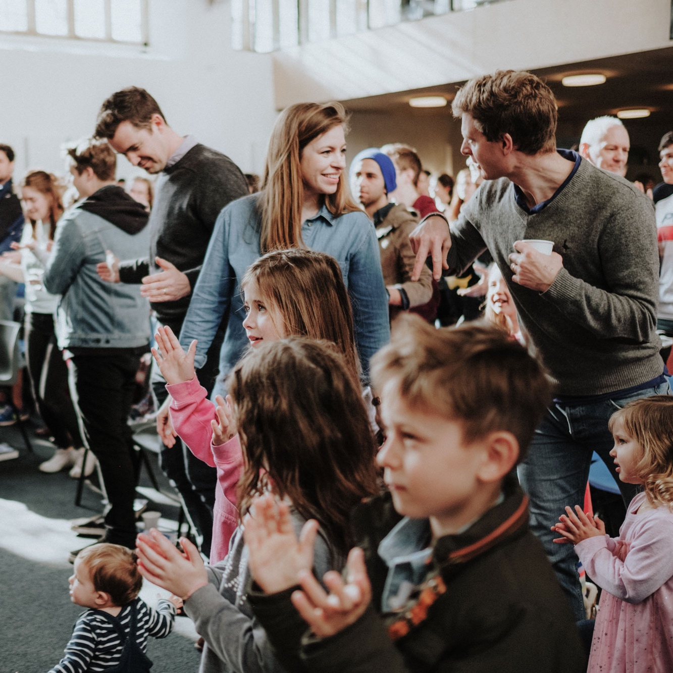 10:30am - The 10:30am service includes family worship, teaching and prayer, plus kids work for children 0-11 years old. Doors open half an hour before the service for coffee and pastries.
