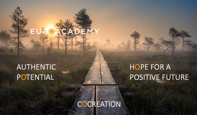 EuroAcademy - värderingar för A World well led