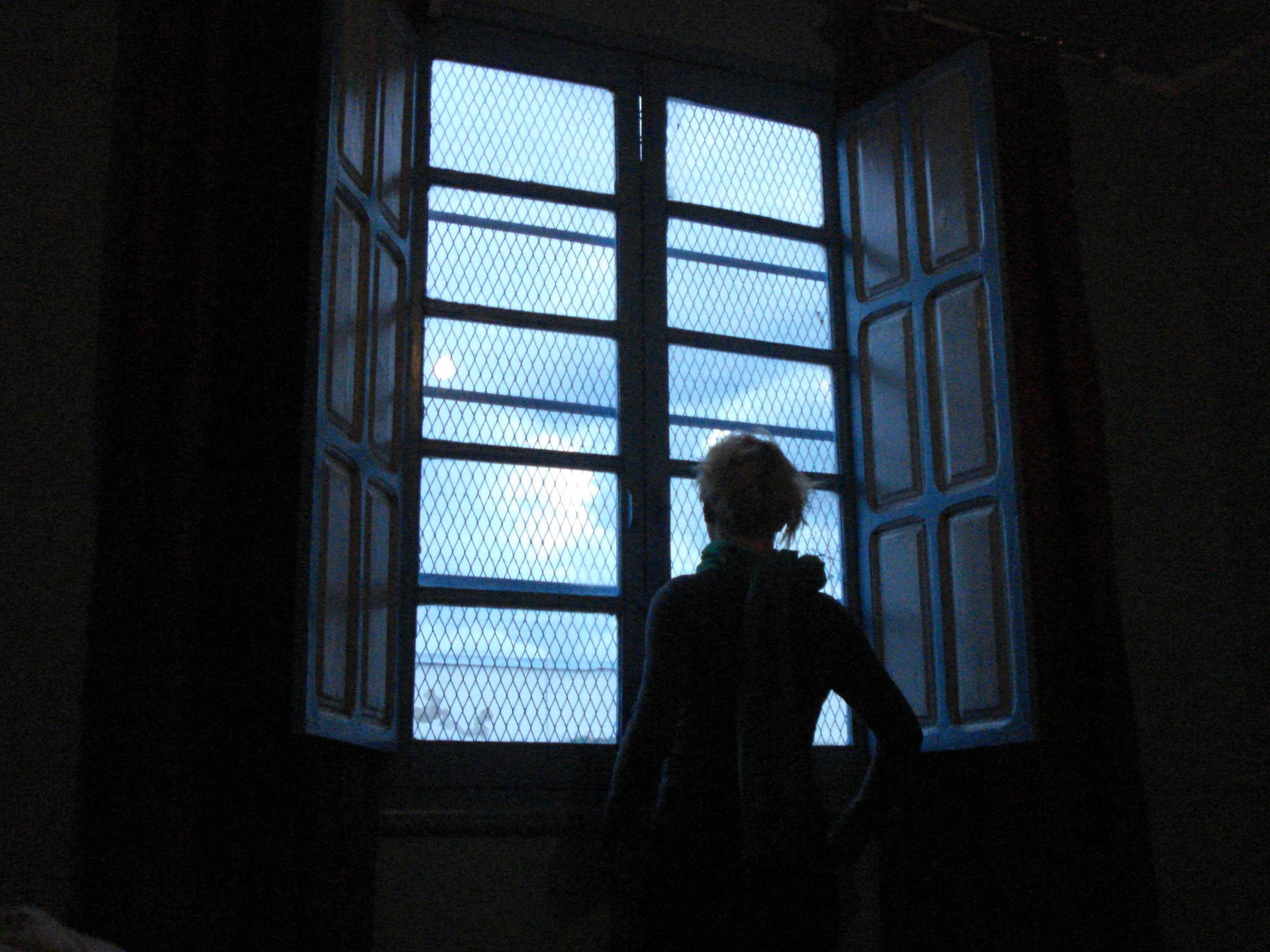 Antycegłowe zabezpieczenia w oknach