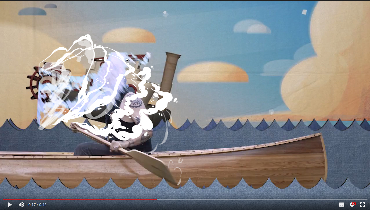 """Notable Works - """"Riverboat Dishwashing Song"""" - The Tillers2018 CEA (Cincinnati Entertainment Awards) Winner for Best Music VideoBackgrounds and 2D Animations"""