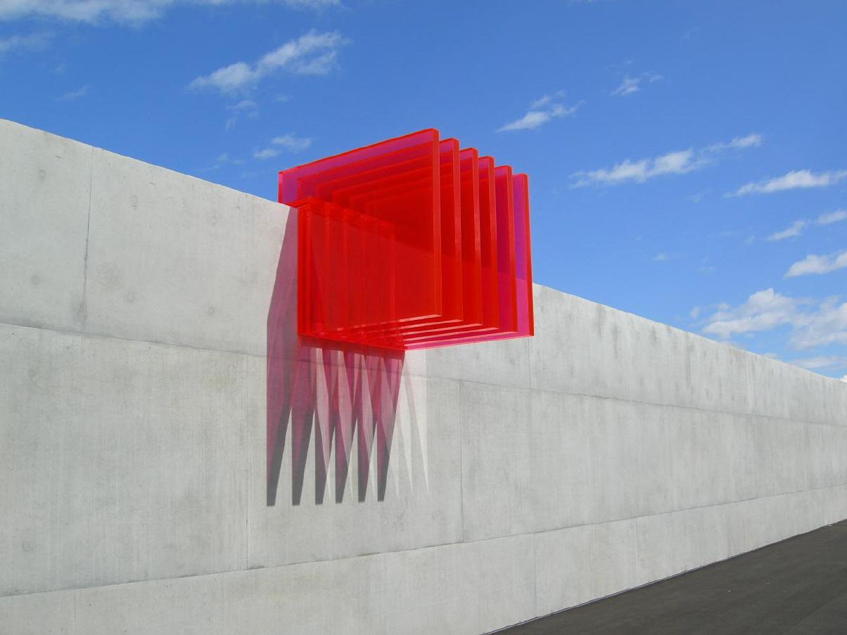 Kunst am Bau Acrylglas