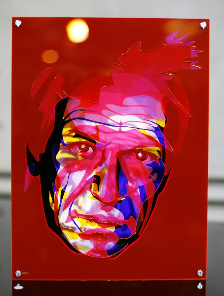 Acrylglas Bild farbig