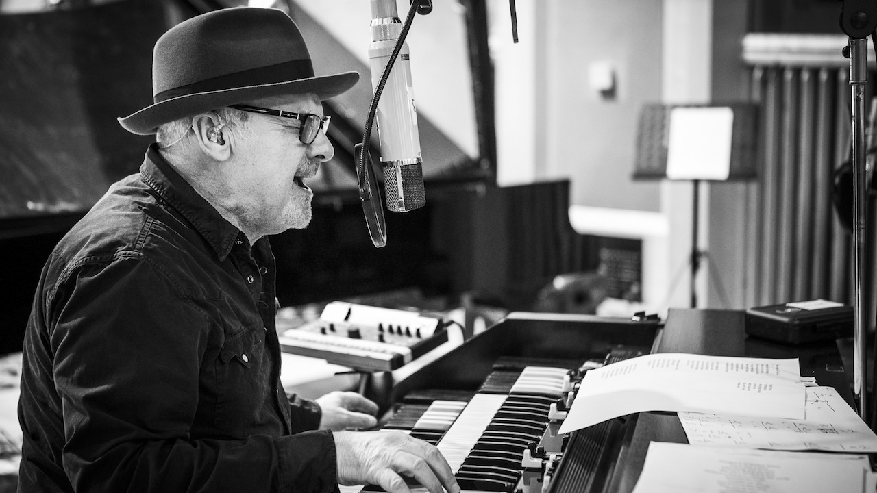 Paul Carrack recording at Air Studios