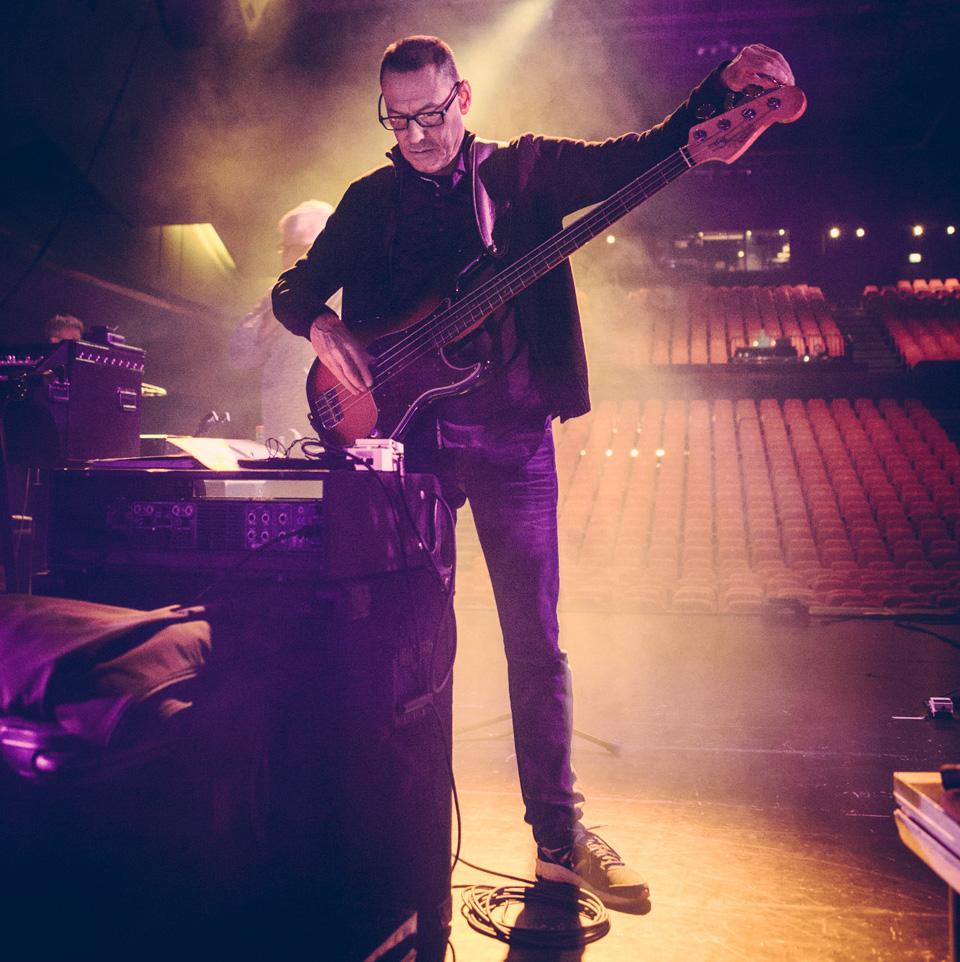 Jeremy Meek - bass