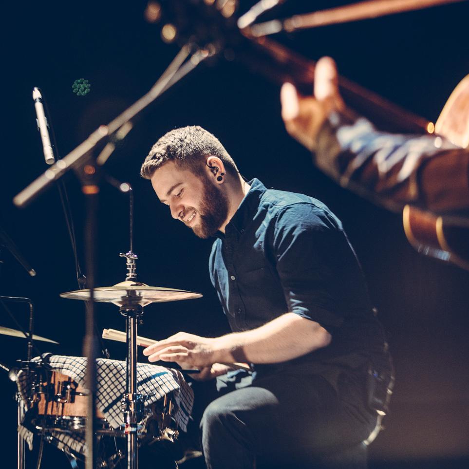 Jack Carrack - drums