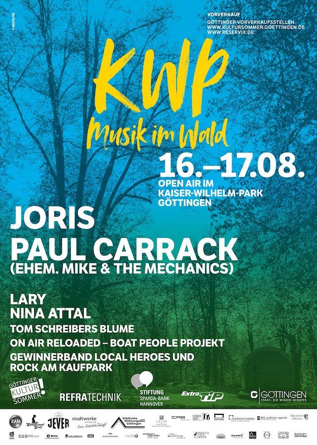 Musik im Wald in Kaiser-Wilhelm-Park 2019 poster