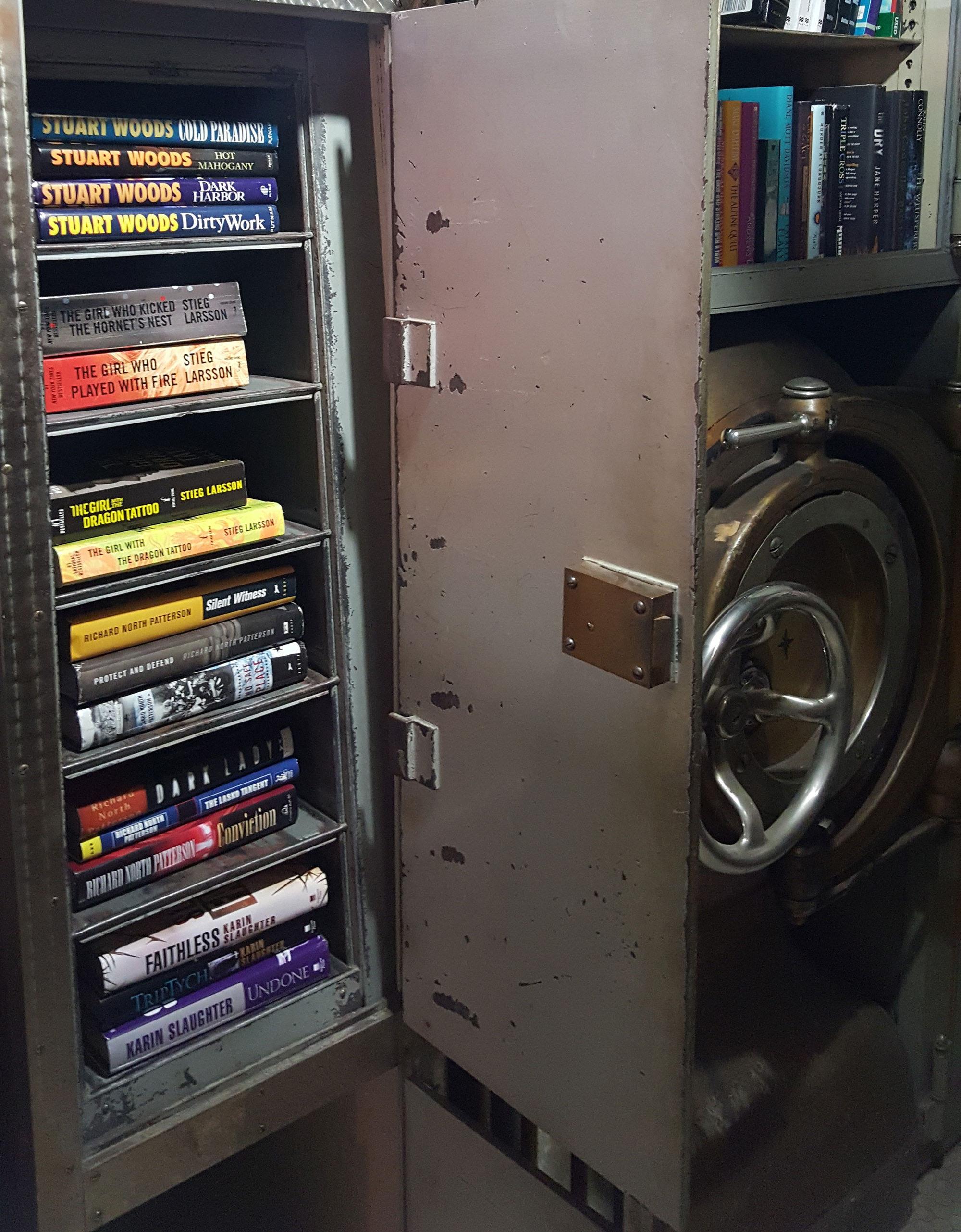 The Book Teller's Bank Vault for Used Books