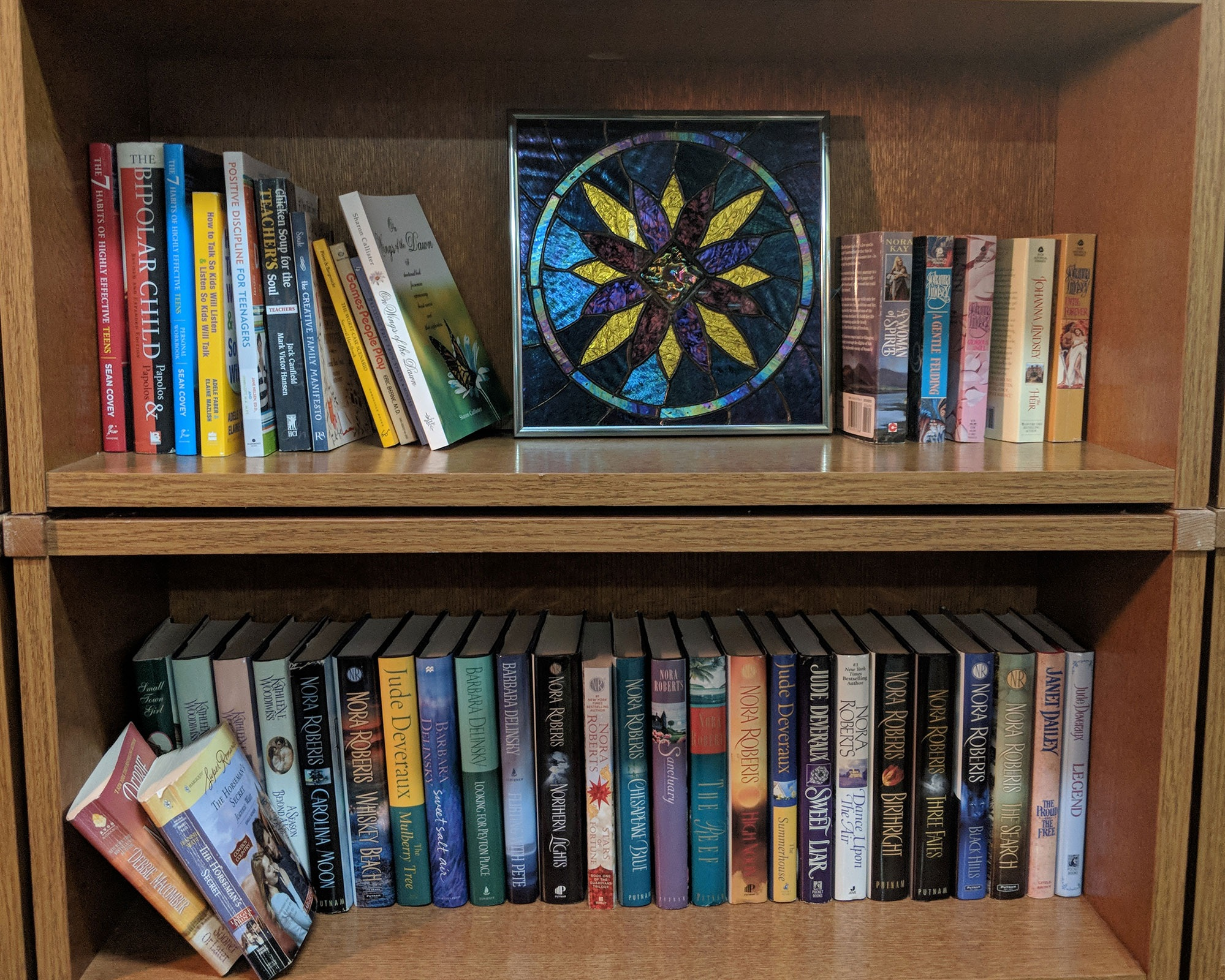Bookstore - A selection of used hard covers, paperbacks, & coffee table books