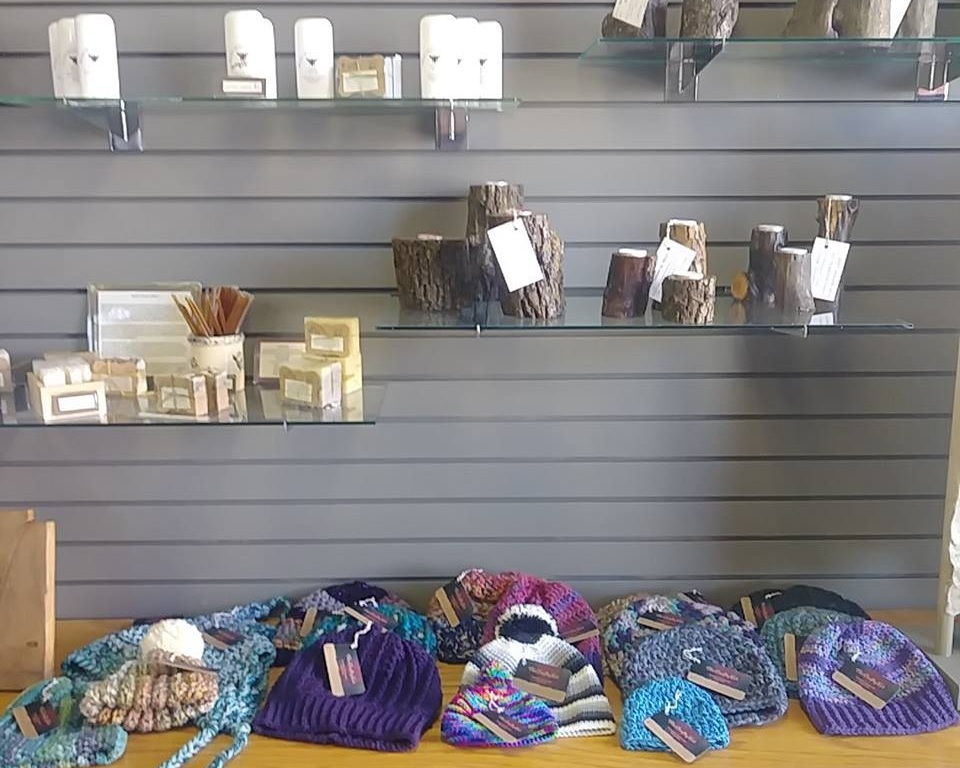 Artisan gallery - Hand-made jewelry, soaps and lotions, local honey, clothing, & more!