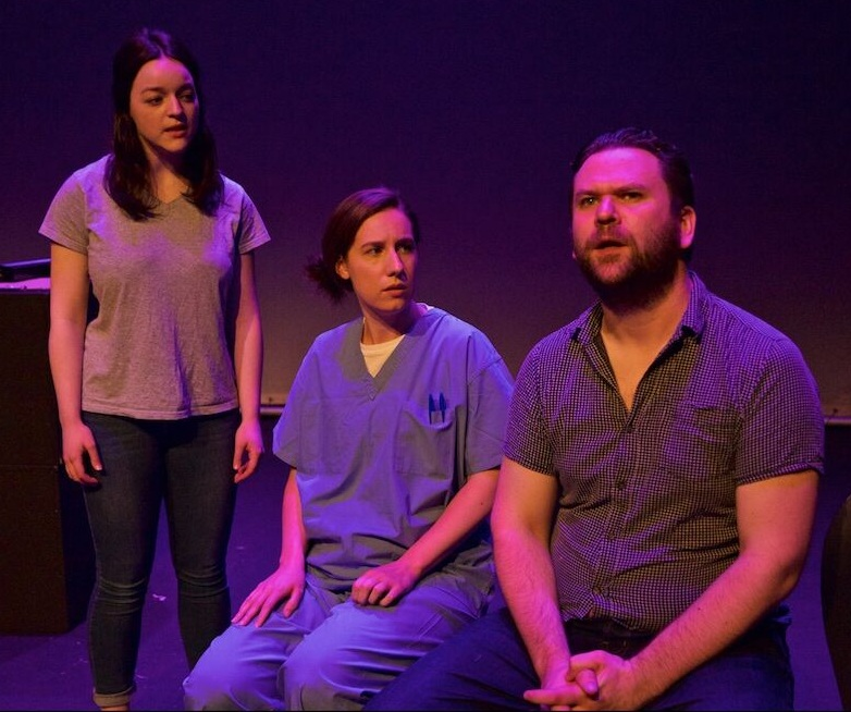 With Kirsty Orr and Martyn Dempsey in MONDAY NIGHT by Chris Deans, dir. Kolbrún Björt Sigfúsdóttir
