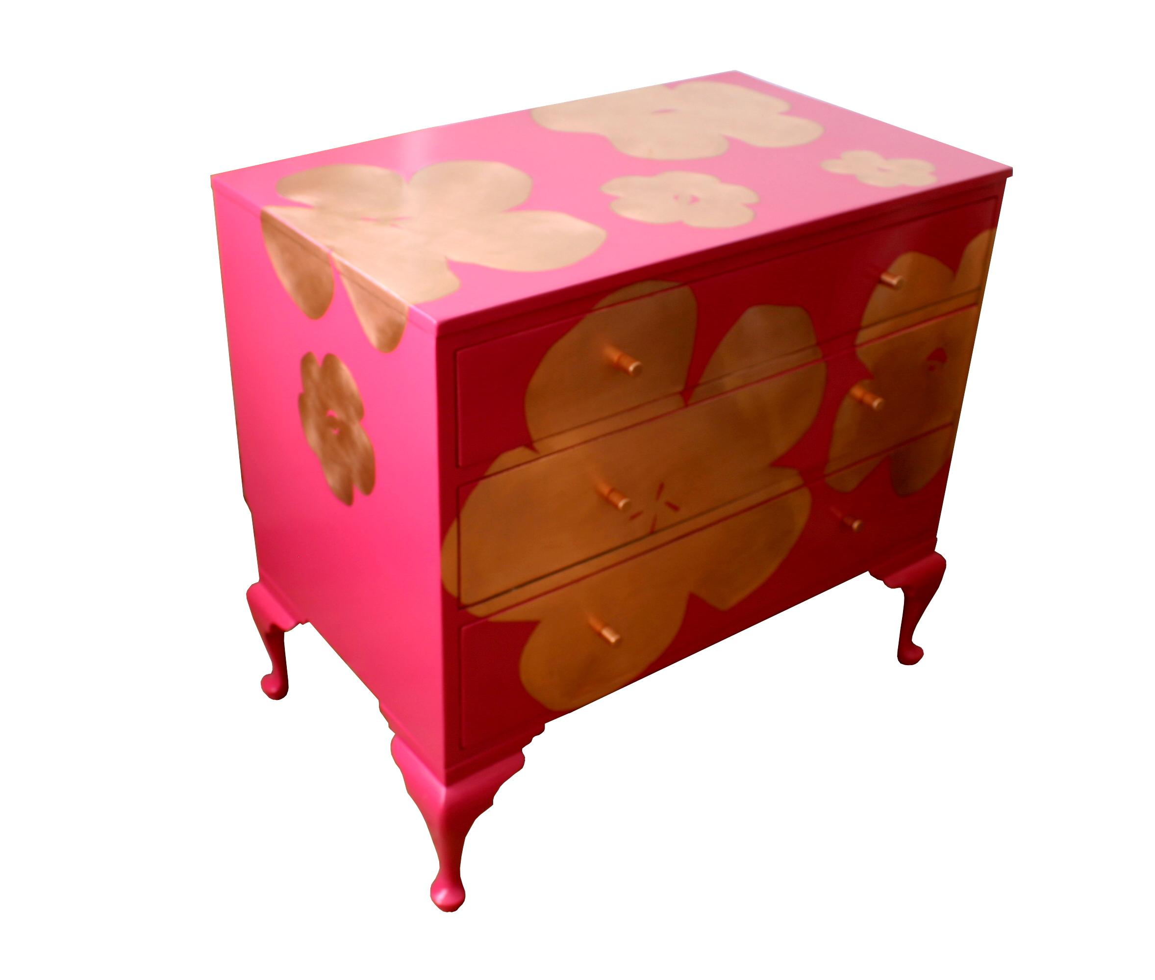 'Poppy' in pink