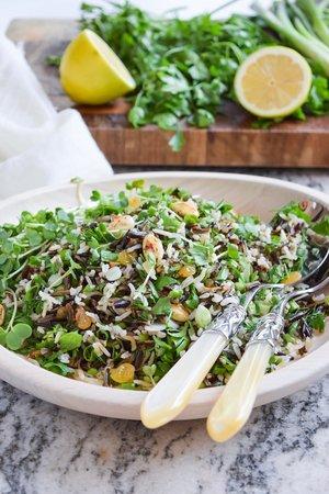 العشاء 2 -  الأرز البري