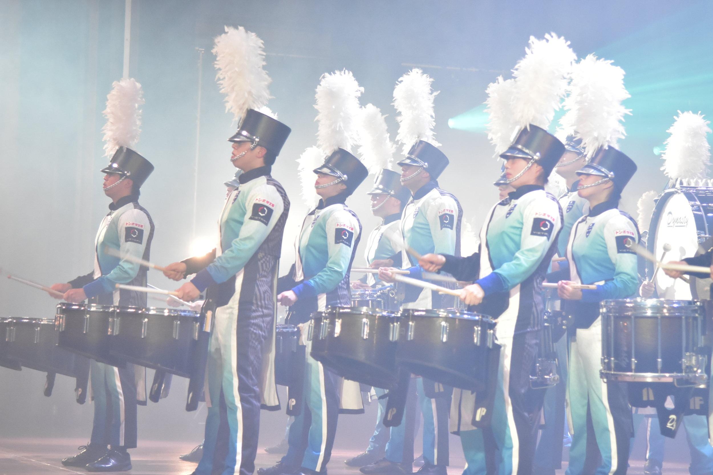 International Pacific University Marching Band, Japan