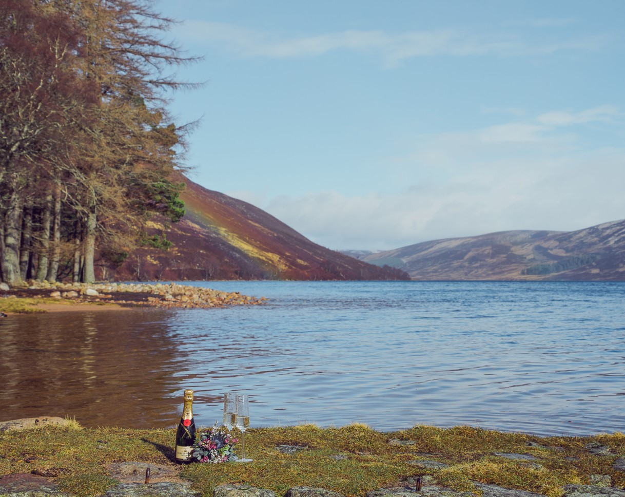 We offer… - an alternative to classic, indoor weddings, for those who love our Scottish landscapes, perhaps are keen hill walkers or wildlife enthusiasts and who dream of getting married somewhere just a little bit different.