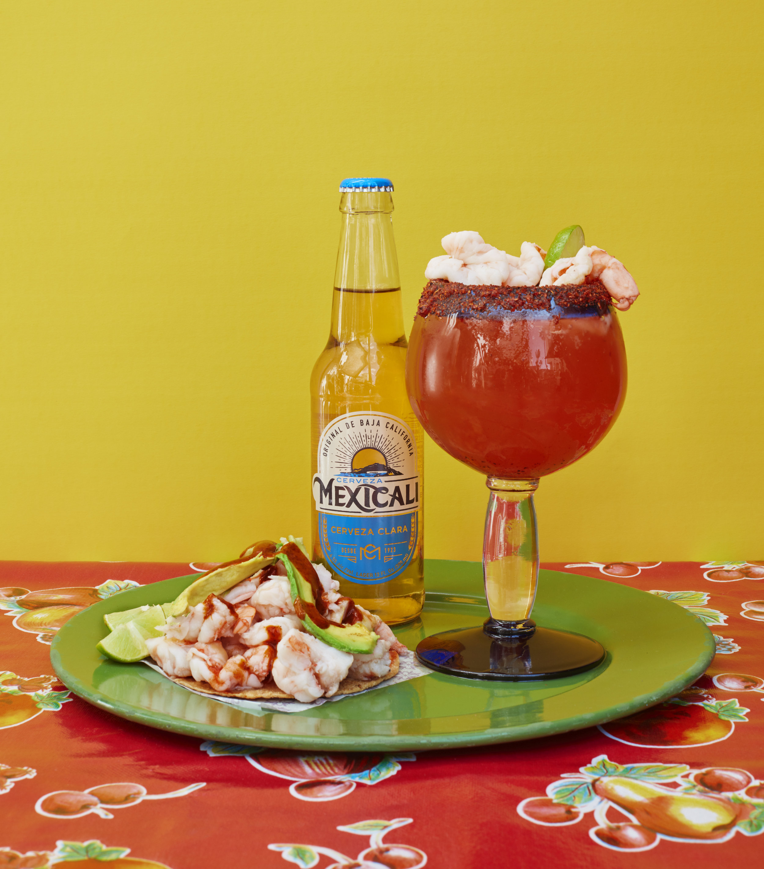 Baja Provisions - Brewed to be paired with the provisions of Baja, inspired by the bountiful local ingredients. Toast with Mexicali over ceviche and fish tacos, and add mariscos to your Baja-style Mexicali michelada.