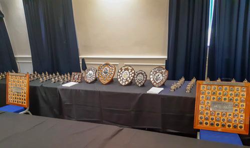 NPSCC trophies