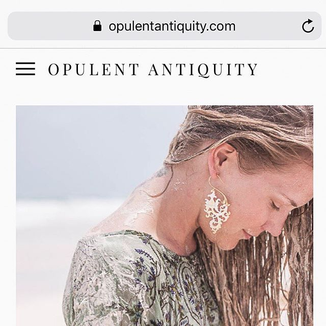 Just launched my new website tonight thanks to the help of the amazingly talented and patient @evashop620  Please take a look at Opulentantiquity.com