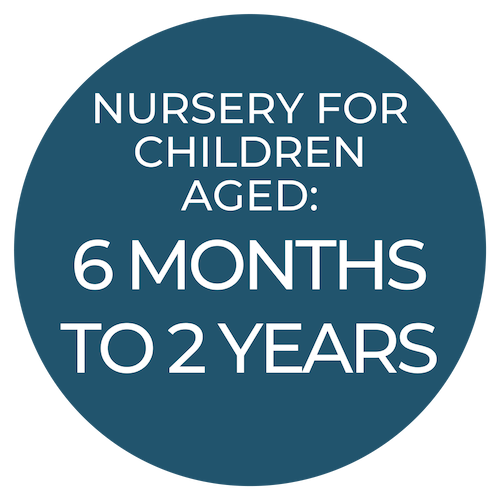 Giggles Rainbow Kidz is our nursery for infants, babies and toddlers