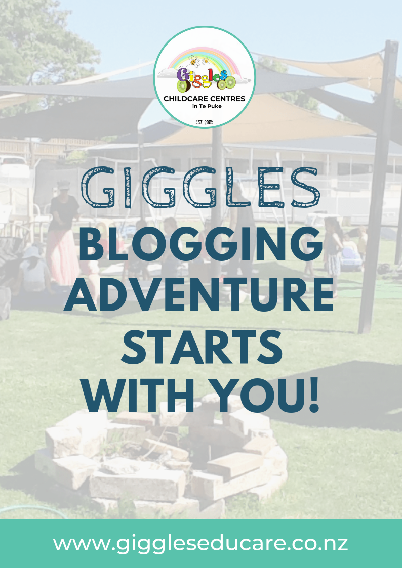 Giggles blogging adventure starts with you.